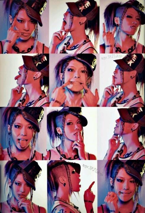 Miyavi you are so cute!