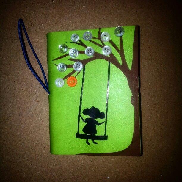 #buttons #bottoni #agenda #diy #albero #tree #altalena #molise #campobasso #decorations