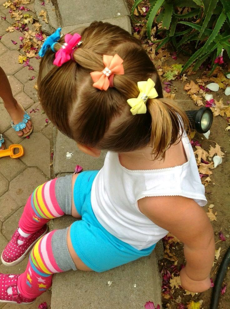 Cute toddler hairstyle!