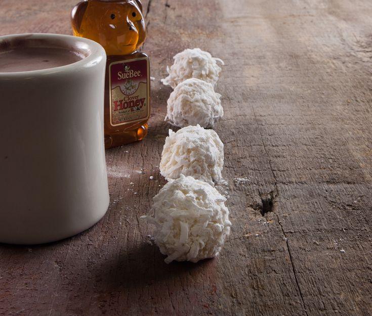 Honey Coconut Snowballs