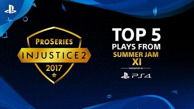 Injustice 2 – Top 5 Plays from Summer Jam XI | PS4 - http://gamesitereviews.com/injustice-2-top-5-plays-from-summer-jam-xi-ps4/