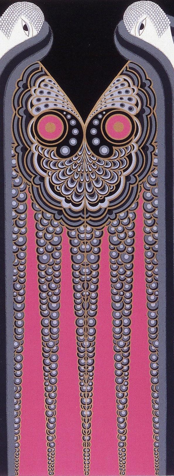 Erté, Twin Sisters Curtain,1926