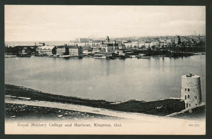 423 - KINGSTON Ontario Royal Military College and Harbour ca 1905 | eBay