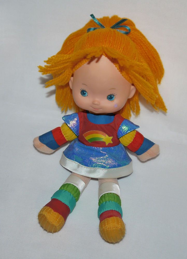 """~*Rainbow Brite*~ Vintage 10"""" Doll Azurine Iridella Regina Regenbogen Blondine #DollswithClothingAccessories"""