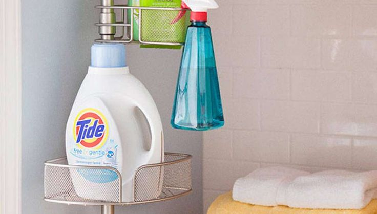 Cleaning suppliesDetergents, fabric softeners, roach sprays -- all cheaper at big-box stores. Photo: Lowe's