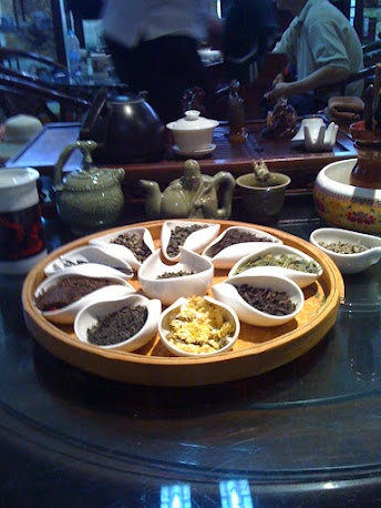 Tea House Sample Xi'an, China. Miss my Chinese tea!