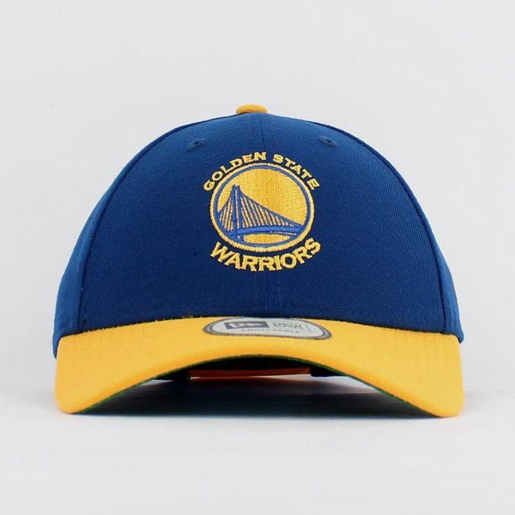 Boné New Era Snapback NBA Golden State Warriors Azul