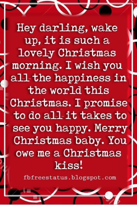 Christmas Love Quotes Messages For Her Him To Wish Christmas