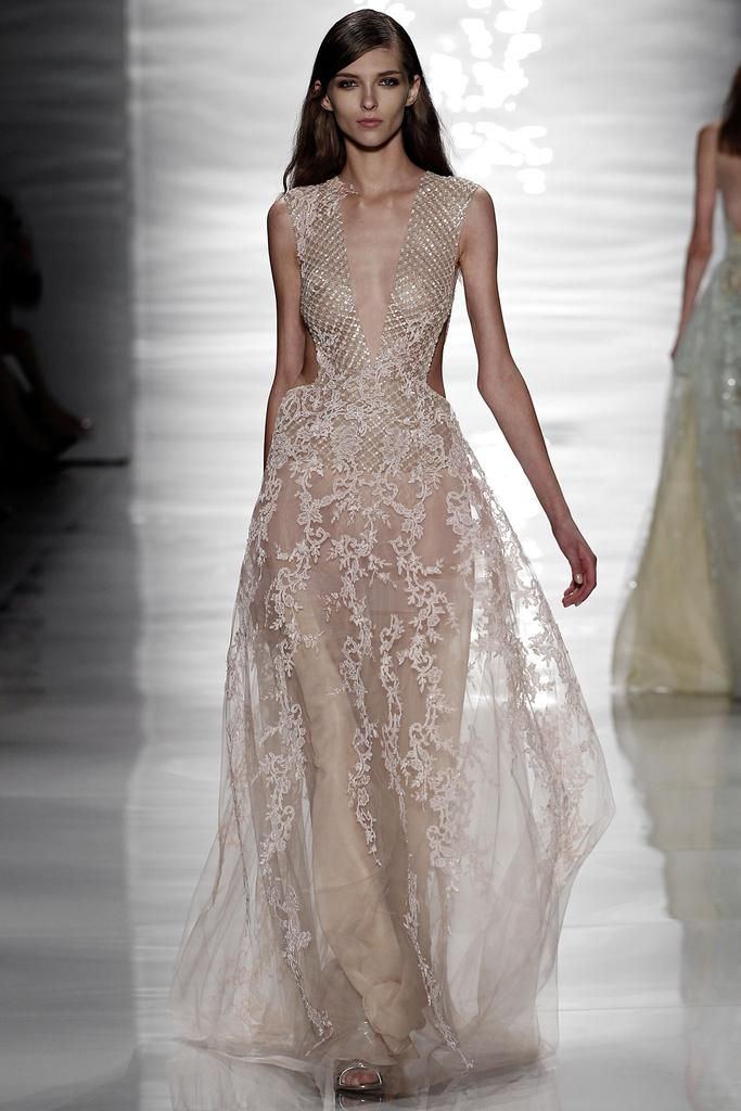 RUNWAY: Reem Acra Spring 2015 RTW Collection