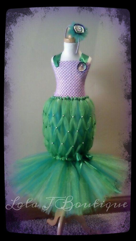 Love this mermaid costume! would love to embellish!  CUSTOM LISTING JessToni  Mermaid Tutu Costume by LolaJBoutique, $65.00
