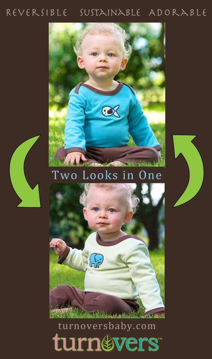Perfect gift for a baby boy! Featuring Ellie applique on one side, and Guppie applique when you flip it inside out. Color is Raindrop/Mint with coordinating Pinecone Pants, $42 at webstore.