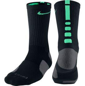 los calcetines, negro y azul