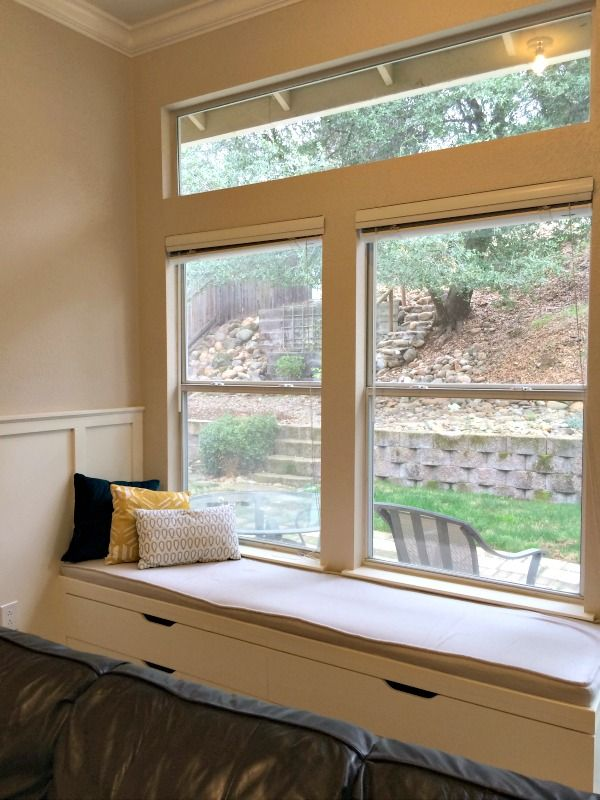 95 best window seats images on pinterest window seats bay windows and benches. Black Bedroom Furniture Sets. Home Design Ideas