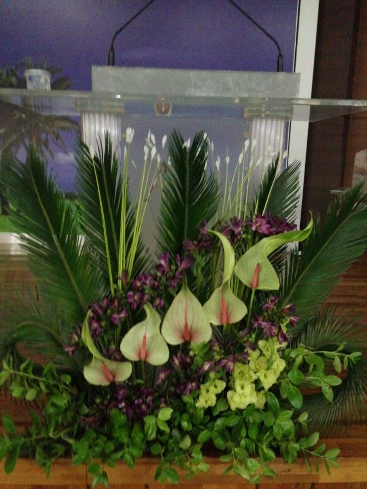 church arrangements flowers church flower arrangement