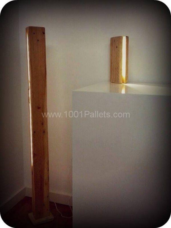 Pallet Lamp | 1001 Pallets