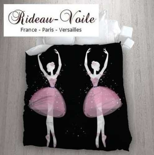 Best 20 ballerine danseuse ideas on pinterest dessin de - Housse de couette noir et rose ...