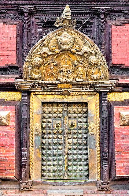 Nepal, Patan, Palace, 17th century: Century Palaces, Patan Palaces, Palaces Doors, Doors Window, 17Th Century, Century Doors, Beautiful Doors, Gates, Nepal