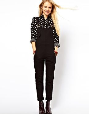 Enlarge ASOS Dungarees in Twill