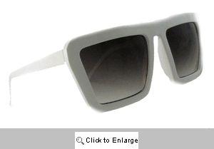 Mod Animation Sunglasses - 544 White