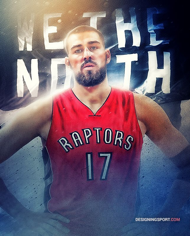 Jonas Valanciunas, Toronto Raptors — 'True North' Series
