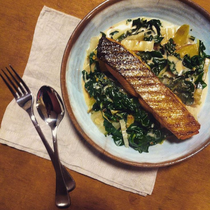 Miso coconut broth features on my weeknight menuat least once a week. Iserve itwith oven-baked crispy-skinned salmon or steamed or grilled white fish, andalways with plenty of steamed green veg…