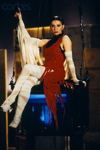 1993 - Jean Paul Gaultier dress - Victoria Abril in 'Kika' A Pedro Almodovar movie