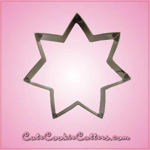 7 Pointed Star Cookie Cutter For Sale