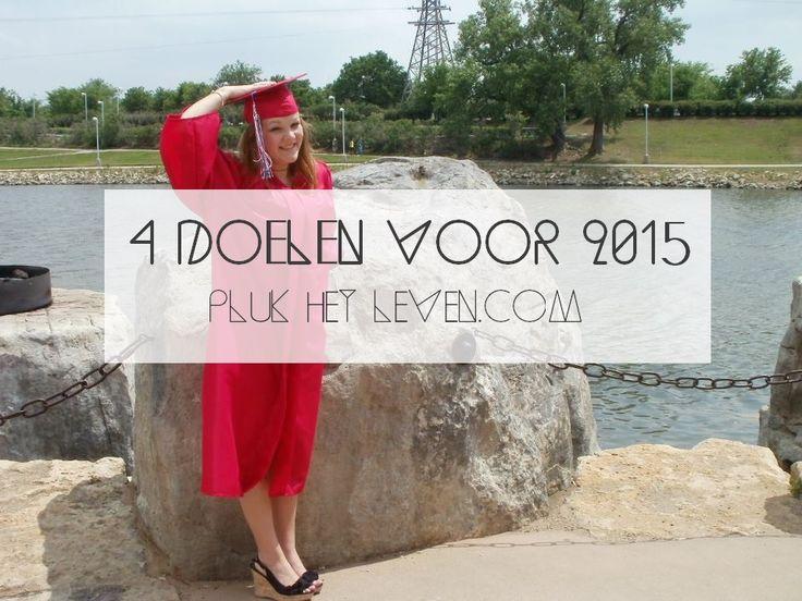 Ik stelde mezelf vier doelen voor 2015. Let's rock this year! http://plukhetleven.next-chapter.nl/4-doelen-voor-2015/