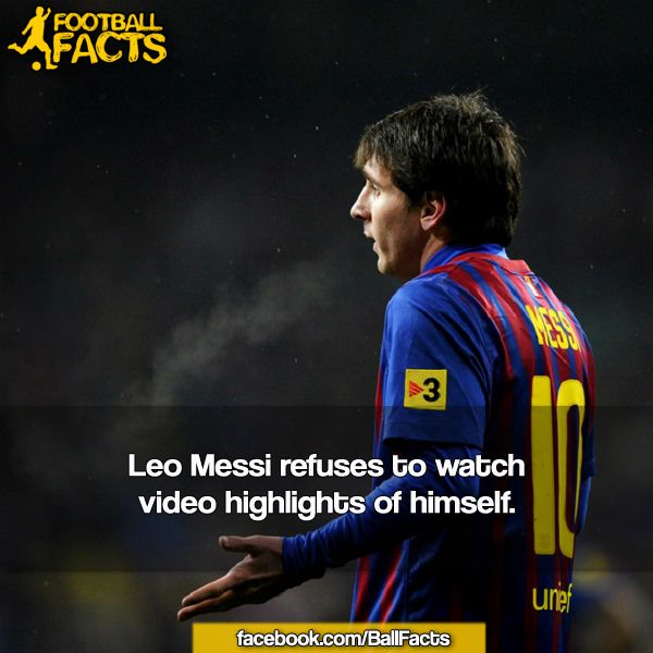 #FootballFacts #Soccer #Messi