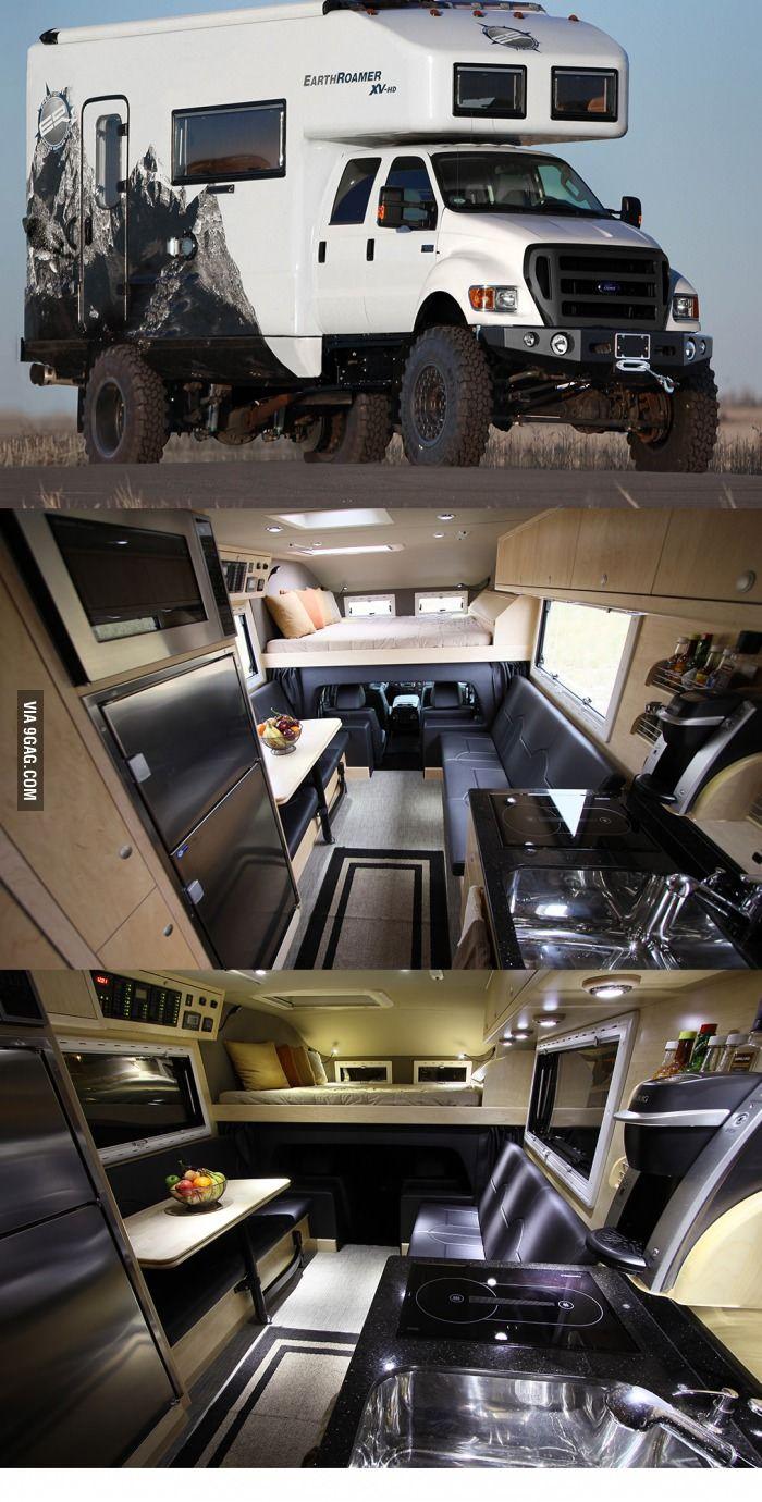 Gentleman, EarthRoamer Xpedition Vehicles.