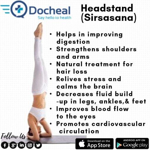 Health Benefits Of Headstand Headstand Yoga Fitness Balance Gym Yogi Handstand Yogalife Gymnastics Yoga Benefits Daily Health Tips Health Tips