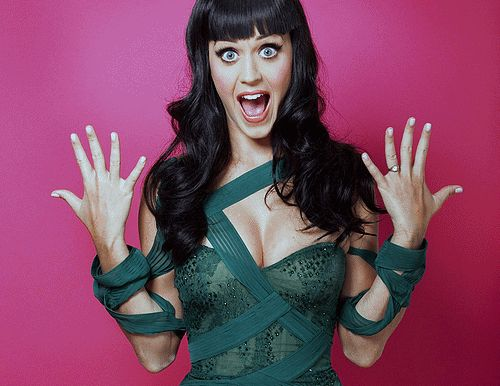 funny, gifs, sexy, katy perry, hot, woman, green, clothes