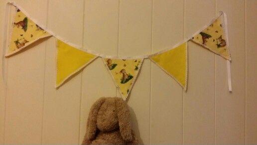 Yellow Rabbit Bunting