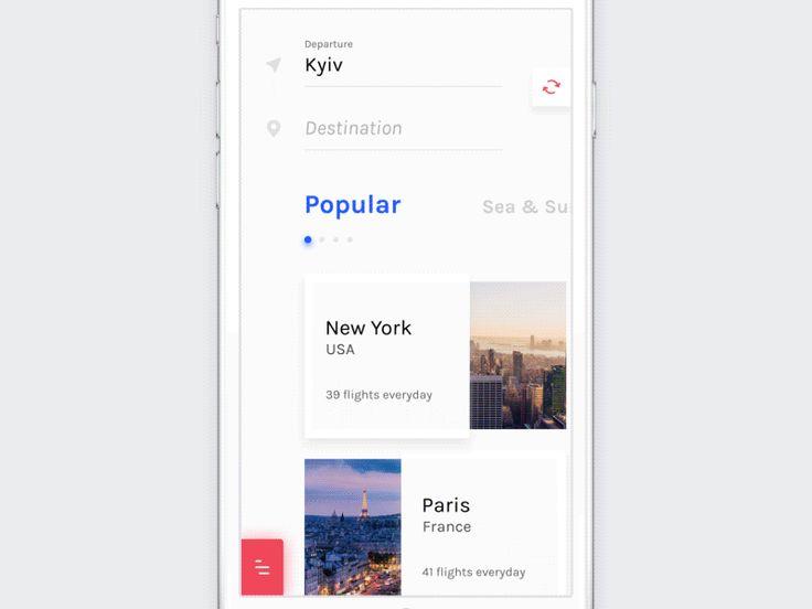 UI Interactions of the week #65 – Muzli -Design Inspiration