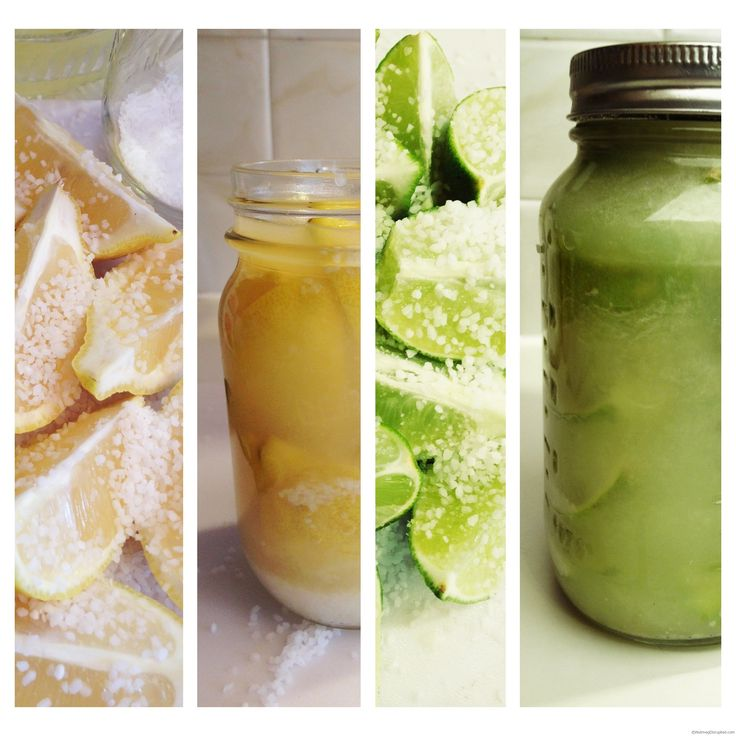 Preserving Lemons and Limes on Nutmeg Disrupted