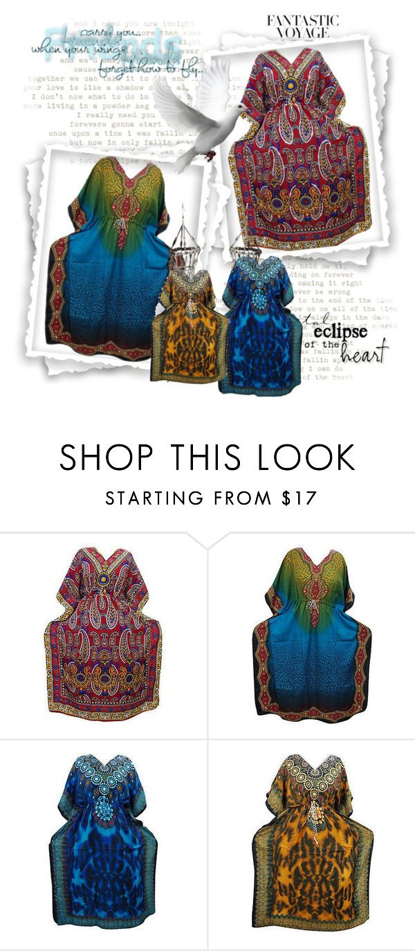 Boho House Dress by baydeals on Polyvore featuring H&M, Clemmie Watson, maxidress, caftan, coverUp, nightdress and longcaftan   http://stores.ebay.com/mogulgallery/CAFTANS-/_i.html?_fsub=665713919&_sid=3781319&_trksid=p4634.c0.m322