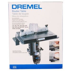 Dremel Router Table