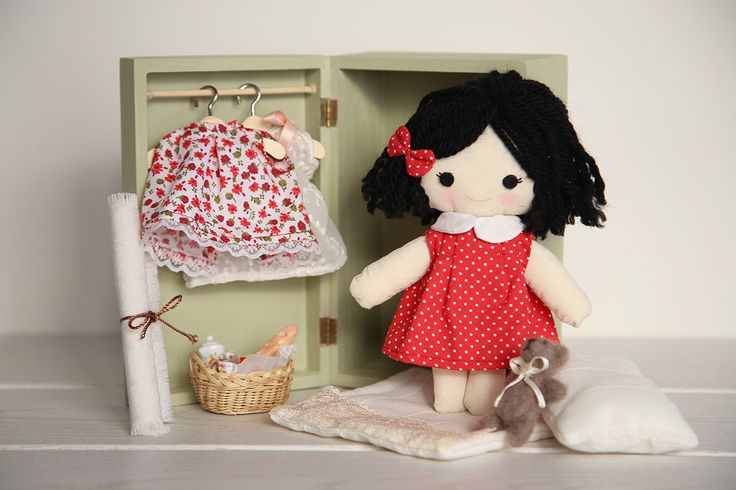 Aida Zamora - Cuadros Infantiles Personalizados: Muñecas de trapo personalizadas