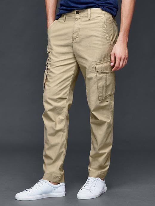 b2894c36467 Gap Men's Cargo Slim Fit Pants Khaki in 2019 | Products | Slim fit ...