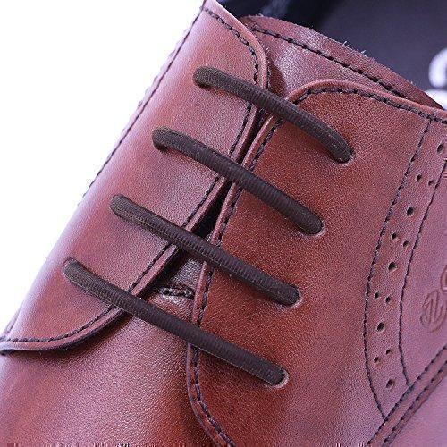 Oferta: 15.26€. Comprar Ofertas de inmaker no tie cordones zapatillas de para vestido de mujer, elástico Oxford cordones para adultos y jóvenes marrón marrón barato. ¡Mira las ofertas!