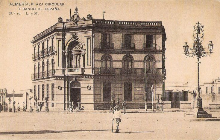 Plaza Circular y Banco de España (Almería)