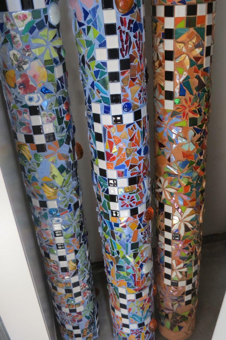 21 Best Images About Mosaic Totem Poles On Pinterest Pvc