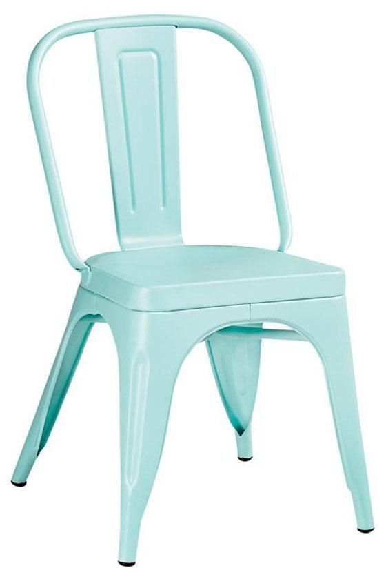 garden side chair: Dining Rooms, Gardens Side, Kitchens Chairs, Break Rooms, Outdoor Chairs, Dining Chairs, Gardens Chairs, Blue Chairs, Side Chairs