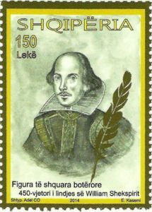 William Shakespeare (1564-1619), English poet and writer