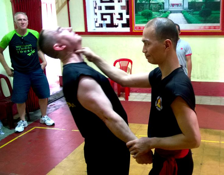 No need for a chiropractor! #martialarts #VietnamSchoolTours #saigon