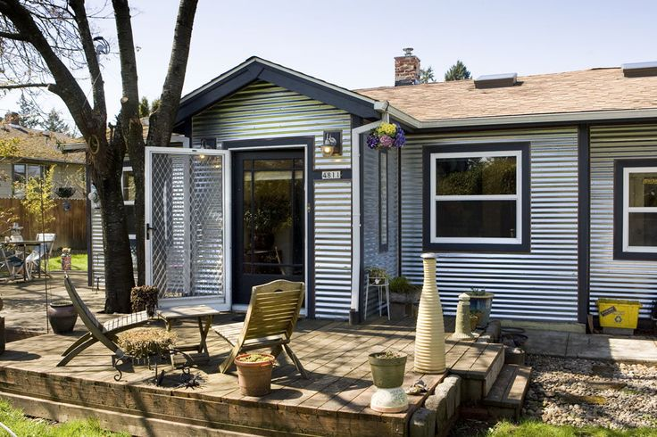 Corrugated Metal Siding HOME Pinterest