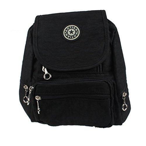 Oferta: 9.99€. Comprar Ofertas de Malloom Ocio mochila mochila Colegio mochila senderismo bolsa mochila de nailon (negro) barato. ¡Mira las ofertas!