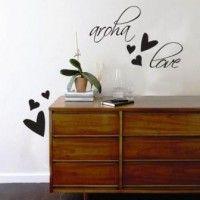 Aroha Love Vinyl Wall Sticker