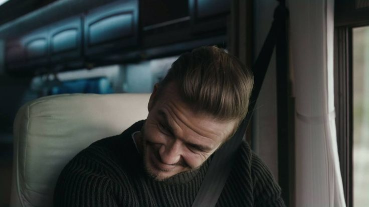 I should've known better than to get in a giant tour bus with Kevin Hart. See more on hm.com #SelectedByBeckham #hm #OnTheRoad