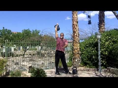 Kettlebell Windmill technique for a strong core By Mike Mahler:  http://fightcampconditioning.com/6-kettlebell-exercises-for-mma-strength-and-conditioning/